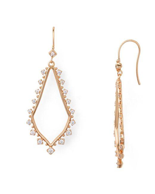 Kendra Scott - Metallic Bea Drop Earrings - Lyst
