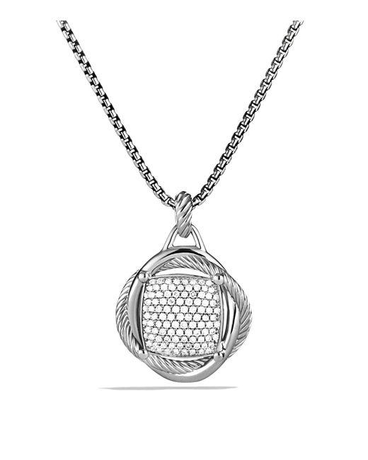 David Yurman | Metallic Infinity Large Pendant With Diamonds | Lyst