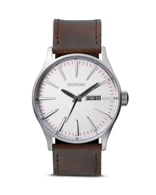 Nixon - Metallic 42mm for Men - Lyst