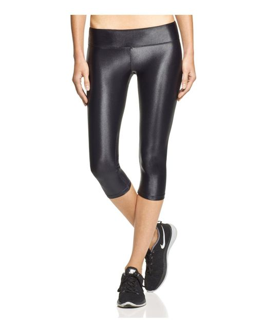 Koral | Black Activewear Lustrous Capri Leggings | Lyst
