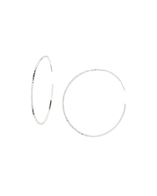 Gorjana | Metallic Taner Extra Large Hoop Earrings | Lyst
