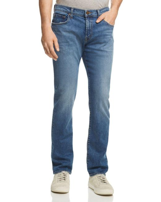 J Brand - Blue Tyler Slim Fit Jeans In Phinius for Men - Lyst