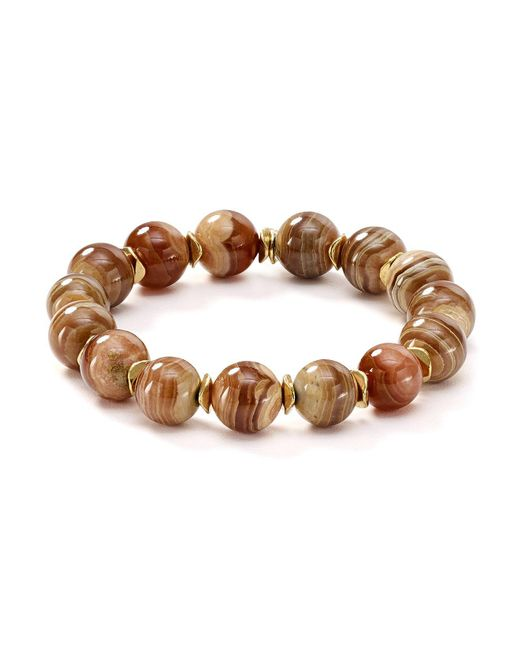 Bourbon and Boweties | Multicolor Stretch Bracelet | Lyst
