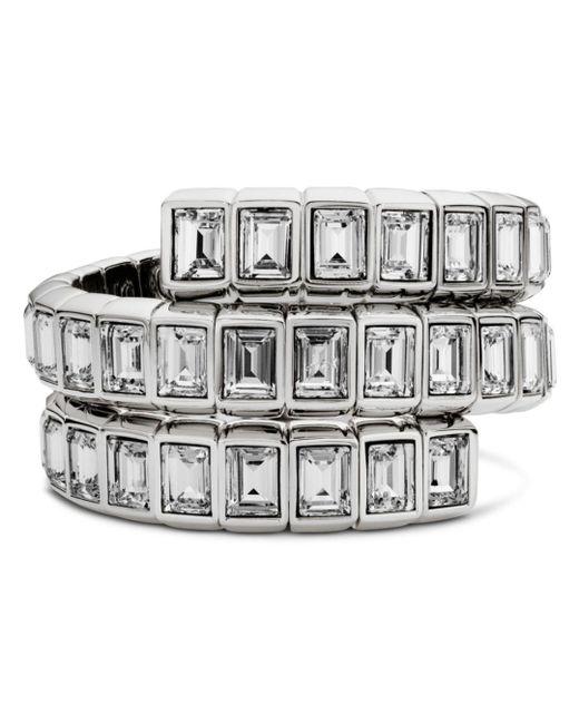 Atelier Swarovski - Metallic Fluid Wrap Bracelet - Lyst