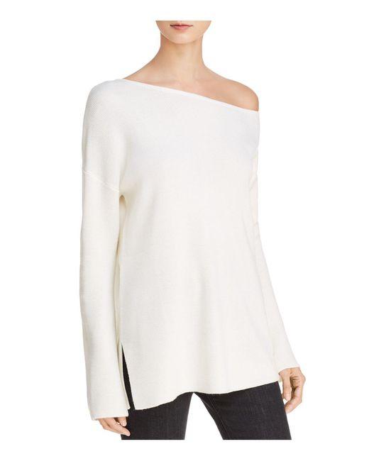 Ella Moss | Natural One-shoulder Sweater | Lyst