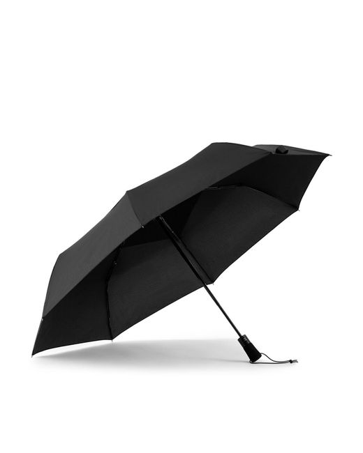 Shedrain | Black Vented Auto Open And Close Jumbo Umbrella | Lyst