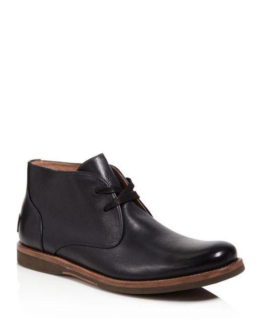 John Varvatos - Black Brooklyn Chukka Boots for Men - Lyst