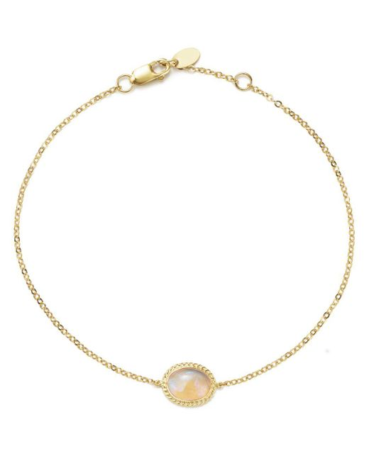 Bloomingdale's - Metallic Opal Oval Bracelet In 14k Yellow Gold - Lyst