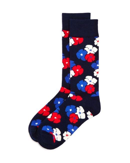 Happy Socks | Blue Kimono Socks | Lyst