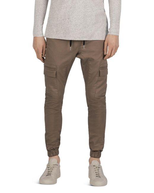 Zanerobe - Brown Sureshot Cargo Jogger Pants for Men - Lyst