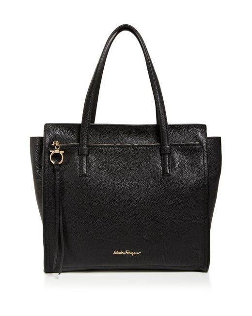 Ferragamo - Natural Amy Large Tote - Lyst
