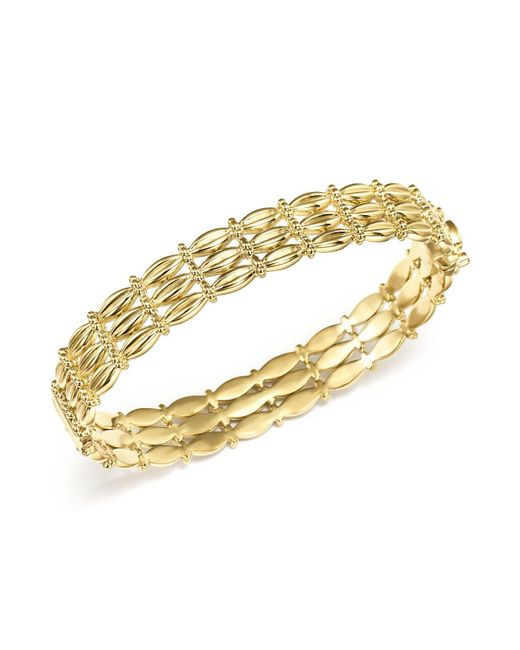Temple St. Clair - Metallic 18k Yellow Gold Vigna Bracelet With Diamond - Lyst