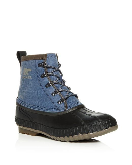 Sorel | Green Men's Cheyanne Ii Short Lace Up Boots for Men | Lyst