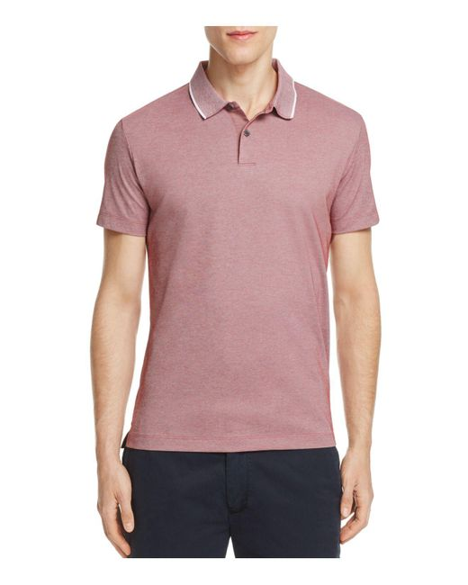 Theory | Multicolor Sandhurst Pique Slim Fit Polo Shirt for Men | Lyst