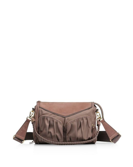 MZ Wallace - Brown Thompson Shoulder Bag - Lyst
