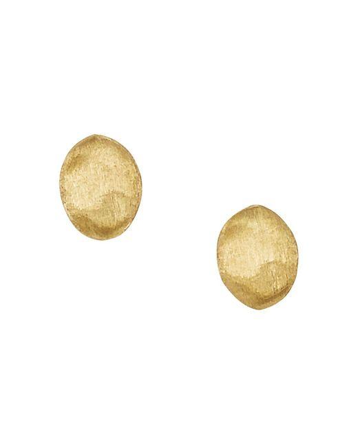 "Marco Bicego | Metallic ""siviglia Collection"" Gold Stud Earrings | Lyst"