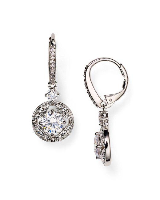 Nadri - Metallic Drop Earrings - Lyst