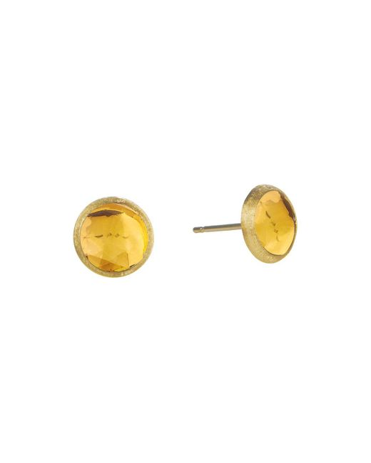 Marco Bicego | Metallic Jaipur Citrine Stud Earrings | Lyst