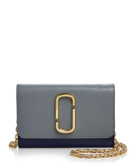Marc Jacobs - Multicolor Leather Chain Wallet - Lyst