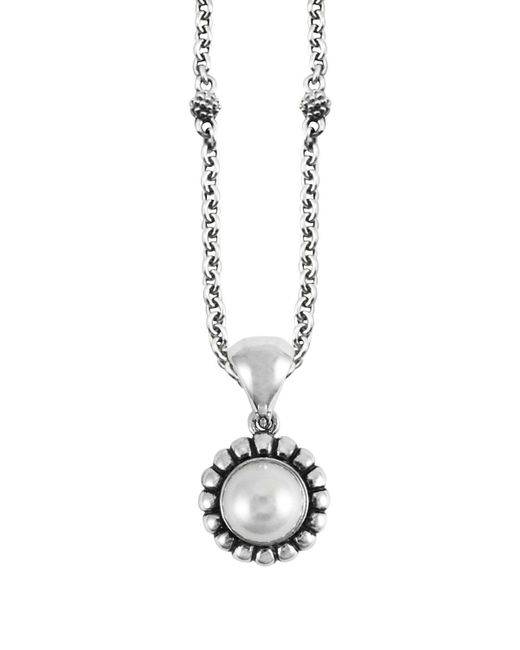 Lagos   Metallic 'derby' Diamond Buckle Rope Necklace (online Only)   Lyst