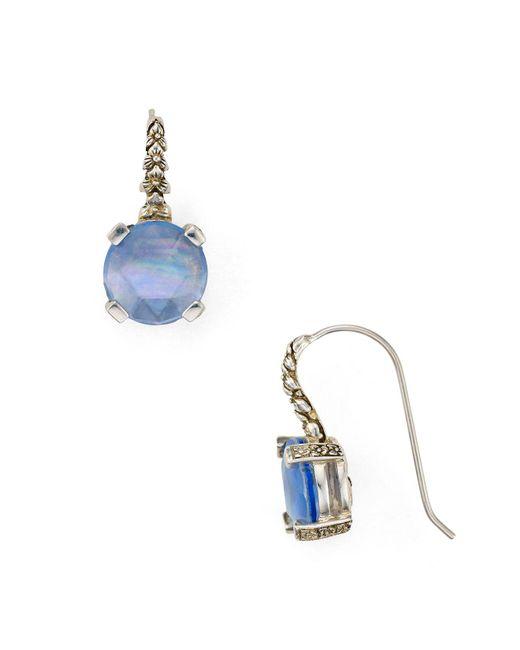 Stephen Dweck   Blue Quartz Drop Earrings   Lyst