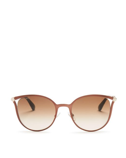 Jimmy Choo | Brown 54mm | Lyst