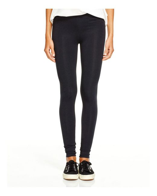 Alternative Apparel - Black Jersey Leggings - Lyst