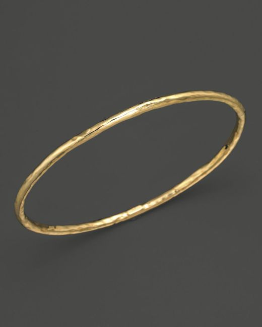Ippolita - Metallic 18k Gold #1 Glamazon Bangle - Lyst
