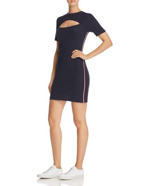 The Fifth Label - Blue Wayfarer Cutout Dress - Lyst