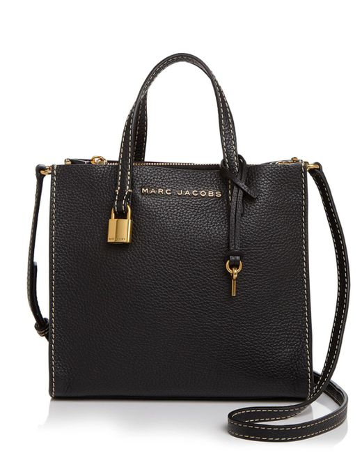 Marc Jacobs - Black The Mini Grind Leather Crossbody - Lyst