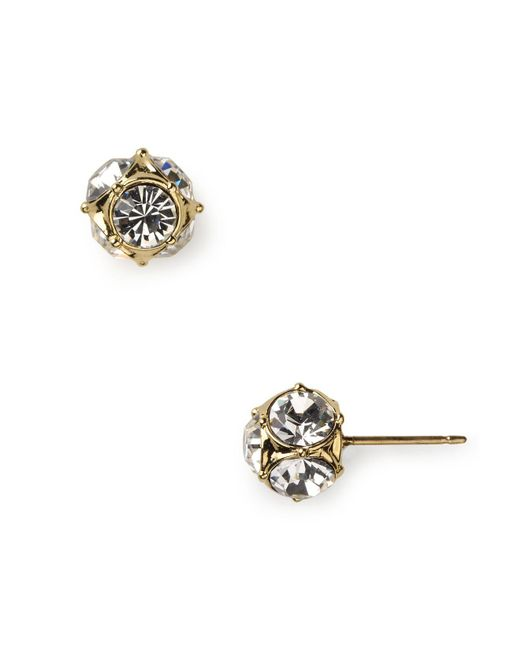Kate Spade - Metallic Lady Marmalade Stud Earrings - Lyst