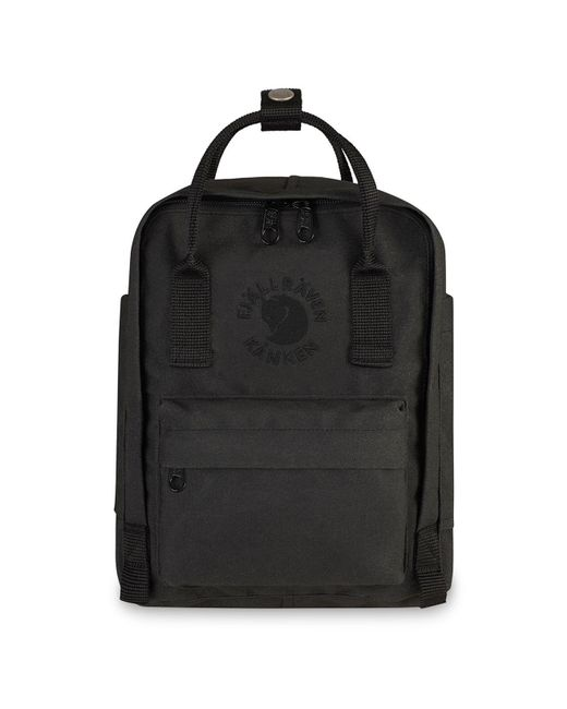Fjallraven | Black Water-resistant Re-kanken Backpack for Men | Lyst
