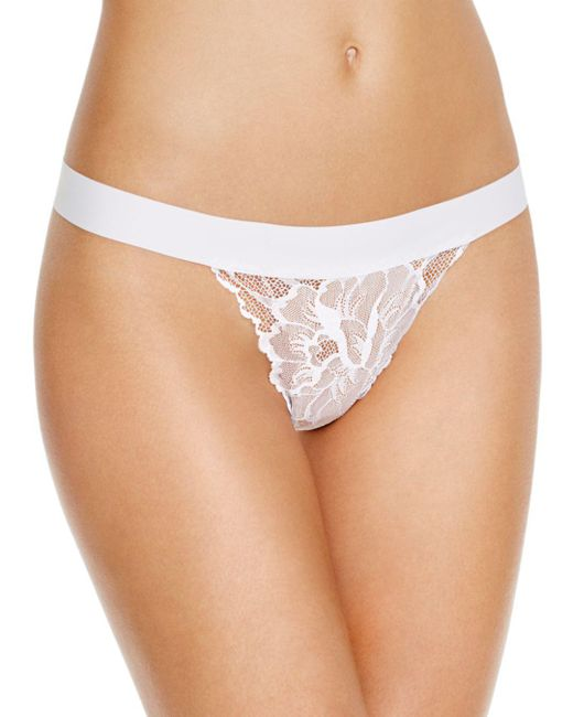 Commando - White Lace G-string - Lyst