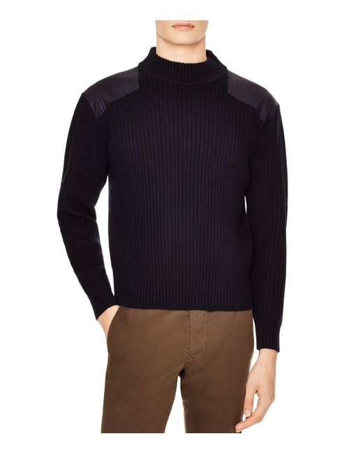 Sandro | Blue Soldier Sweater for Men | Lyst