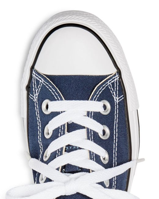 28b0d8e94053 ... Lyst Converse - Blue Women s Chuck Taylor All Star Lace Up Sneakers ...
