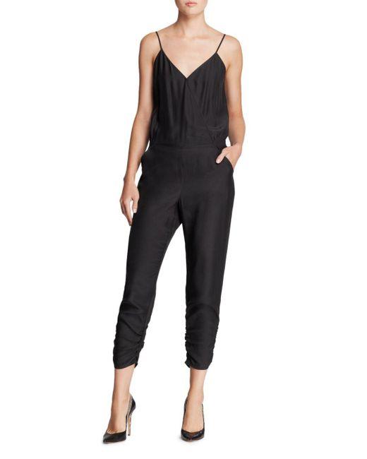 Parker - Black Jumpsuit - Liv Silk - Lyst