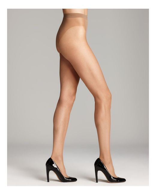 Wolford | Natural Luxe 9 Sheer Tights | Lyst