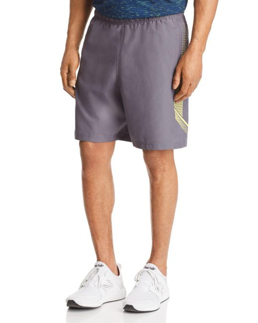 Under Armour - Gray Woven Graphic Shorts for Men - Lyst