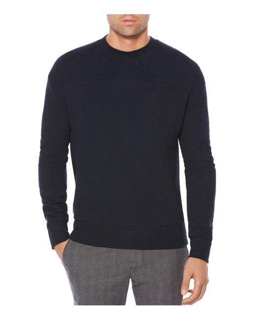 Original Penguin | Blue Crewneck Sweatshirt for Men | Lyst