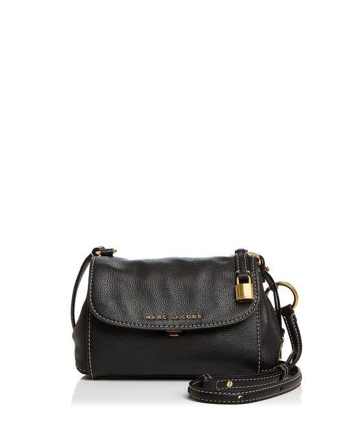 Marc Jacobs - Black Mini Boho Grind Leather Crossbody - Lyst