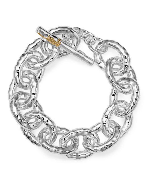 """Ippolita - Metallic Sterling Silver """"mini Bastille"""" Chain Bracelet - Lyst"""