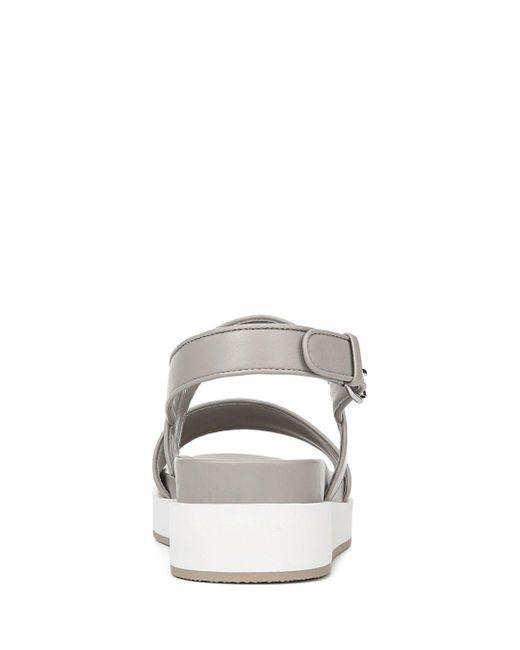 2885e691d2 ... Via Spiga - Multicolor Women's Davi Leather Platform Sandals ...