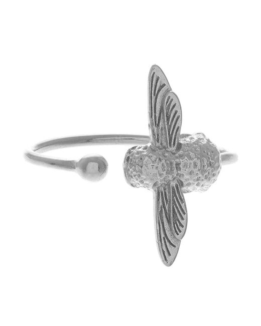 Olivia Burton - Metallic 3d Bee Open Ring - Lyst