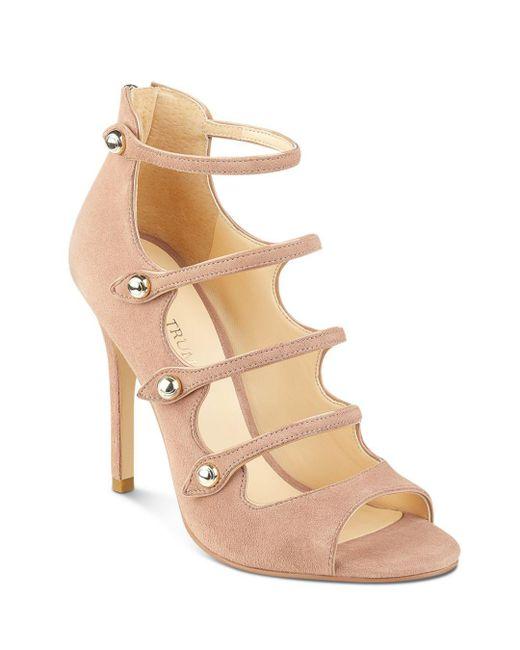 Ivanka Trump - Natural Houston Strappy High-heel Sandals - Lyst