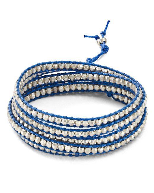 Chan Luu - Blue Wraparound Bracelet - Lyst