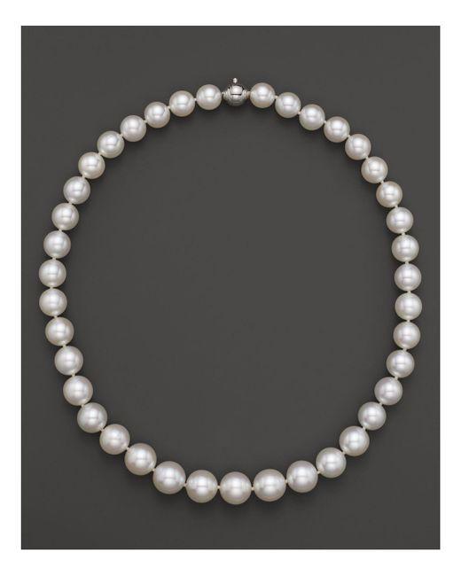"Tara Pearls | White 17"" | Lyst"