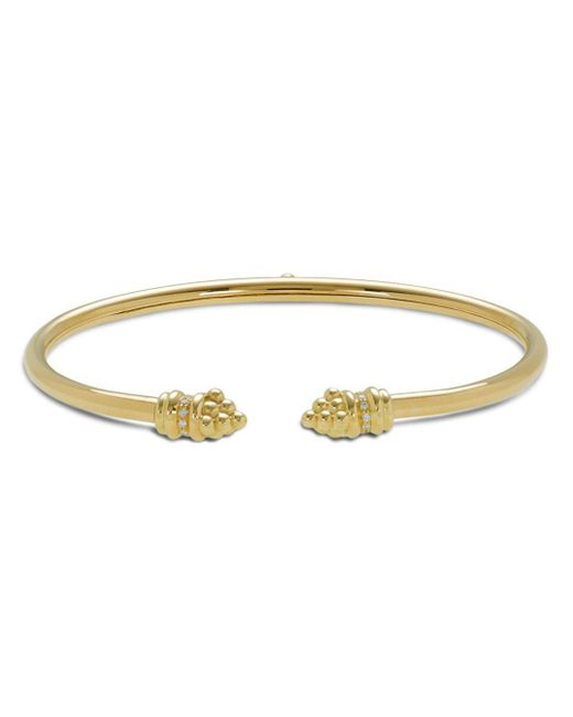 Temple St. Clair - Metallic 18k Gold Bellina Bracelet With Diamonds - Lyst