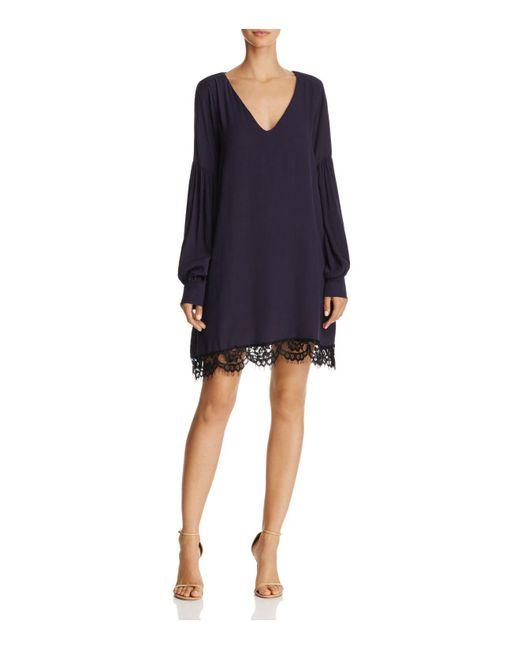 Muche Et Muchette | Blue Jeanne V-neck A-line Dress | Lyst