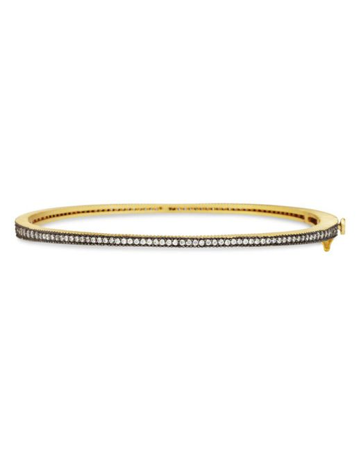 Freida Rothman - Metallic Bangle Bracelet - Lyst