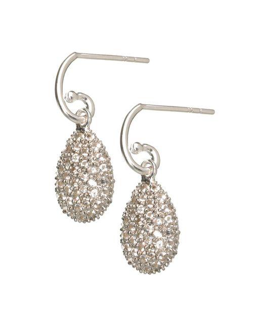 Links of London | Metallic Hope White Topaz Earrings | Lyst